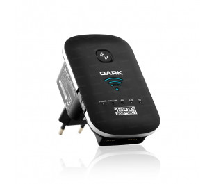 Dark RangeMAX WRAC1200 802.11ac WiFi 1200Mbit 1x3dBi 5G, 1x3dBi 2.4G Dahili Antenli Kablosuz Router / Access Point / Repeater