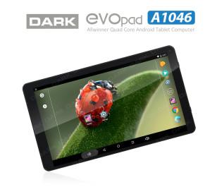 "Dark EvoPad A1046 Quad Core 10.1"" IPS 1GB/16GB Tablet Bilgisayar"