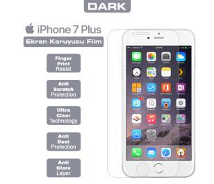 Dark iPhone 7 Plus Ultra İnce Şeffaf Ekran Koruyucu