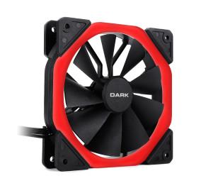 Dark 120mm Solid RING Kırmızı LED Fan