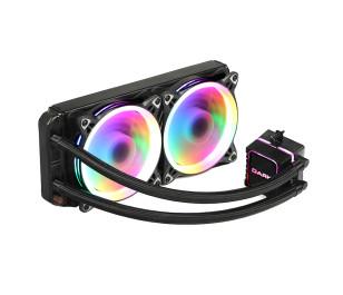Dark AquaForce W244 2xÇevresel Adressable RGB Aydınlatmalı Sıvı Soğutma