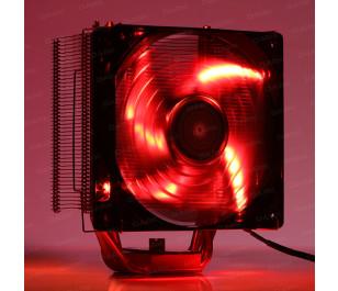 Dark Freezer X120R Kırmızı LED'li 12cm Kule Tipi Soğutucu
