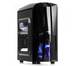 DARK F50 2x Mavi LED Fan USB3.0 Pencereli 500W M-ATX Kasa