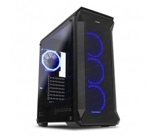 Dark GUARDIAN 500W 80+ 4x12cm Dual RGB Fan USB3.0 T-Glass ATX Oyuncu Kasası ( Yeni )