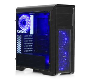 DARK N10 PRO 600W 80+ USB 3.0, 3x12cm Fan, Fan Kontrolcülü, Temperli Yan Cam Panel ATX  Kasa