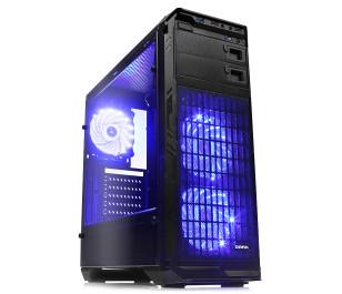DARK N5 600W 80+ ST, USB 3.0, 3x12cm Fan LED'li , Full Cam Yan Panel ATX  Kasa