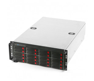 "Dark ServerNet 4U 5X Fanlı 20x 3.5"" HDD Hot-Swap Server Kasa"