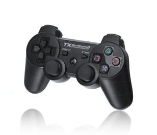 TX DuoShock Çift Analog,Kablosuz,Titreşimli PS3 Gamepad