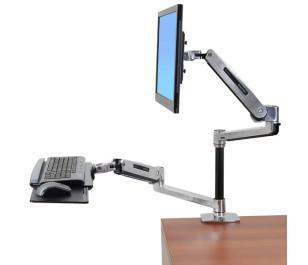 Ergotron LX Serisi Sit-Stand Masaüstü LCD TV / Monitör Kolu (45-405-026)