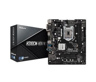 ASRock H310CM-HDV/M.2, 1x PCIeX16 (Gen3.0), 2x PCIeX1 (Gen2.0), 2x DDR4, 1x M.2 (PCIeX4 Gen2 , SATA3), 4x USB3.1 (2x Arka, 2xÖn), 4x SATA3  Intel 8.-9. Nesil Intel İşlemci Desteği, mATX Anakart