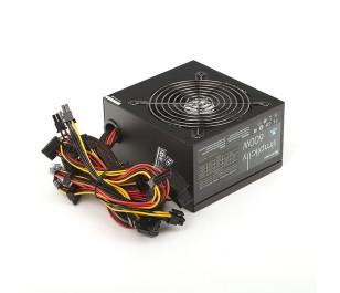 High Power Simplicity 600W 80+ 45A Single Rail Aktif PFC Siyah ATX Güç Kaynağı