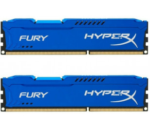 Kingston DDR3 16GB(2x8GB) 1600MHz HyperX Fury Ram Bellek (HX316C10FK2/16)