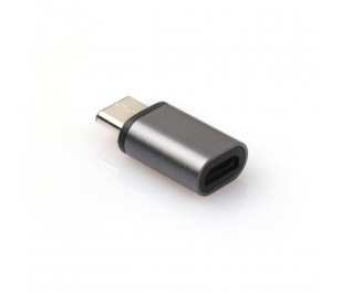 Dark USB3.1 TypeC Erkek - Micro USB2.0 Dişi Dönüştürücü