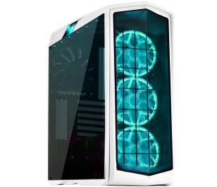 SilverStone Primera Serisi PM01W Güçlendirilmiş Camlı 2xUSB 3.0 4 Fanlı RGB Ledli Beyaz ATX Kasa