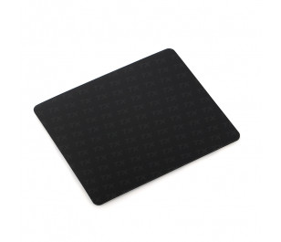 TX Flat Line Yarı Sert Üst Yüzeyli Slim Siyah MousePad (240x200mm)