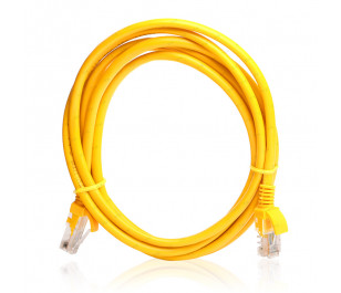 TX 2M Cat5E CCA Solid UTP Sarı Network Kablosu