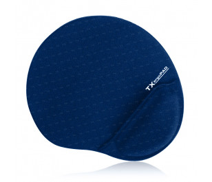 TX ErgoPad Plus Bilek Jel Destekli Lacivert Mousepad (250x220x5mm)