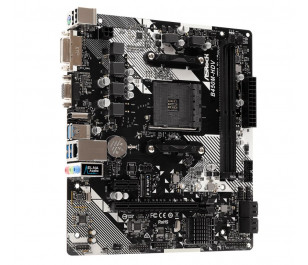 ASRock B450M HDVR4, 1x PCIeX16(Gen3.0), 1x PCIeX1 (Gen2.0), 2x DDR4 3200+(OC), 1x Ultra M.2 (PCIeX4 (Gen3.0) & SATA3), 4x SATA3, 6x USB3.1 (4x Arka,2x Ön Panel), AMD AM4 Micro ATX Anakart