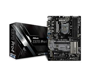 Asrock Z370 Pro4 , 2x PCIe x16 (Gen3), 4266MHz+ (OC) DDR4, ATX Anakart (Coffee Lake İşlemcileri Destekler)